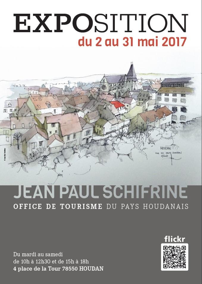 EXPOSITION DE JEAN-PAUL SCHIFRINE À L'OFFICE DE TOURISME